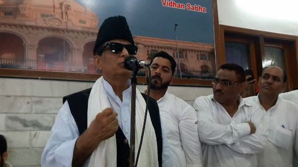 Azam khan in rampur after long time
