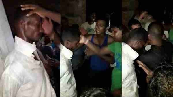 man beaten by villagers suspicious in child lifter