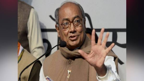 BJP Files Defamation Case Against Congress leader Digvijaya Singh For his ISI Remark