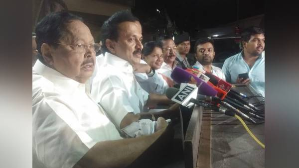 DMK President MK Stalin said protest against imposition of Hindi has been postponed
