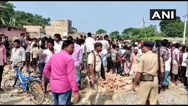 Bihar: One person died in an explosion in a house in Nautan area of Bettiah