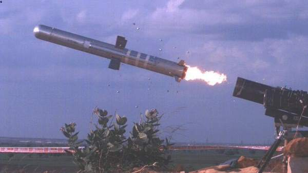 India successfully test fired Man Portable Anti Tank Guided Missile system in Kurnool