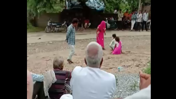Love Couple beaten in seth ka kundal village of Udaipur
