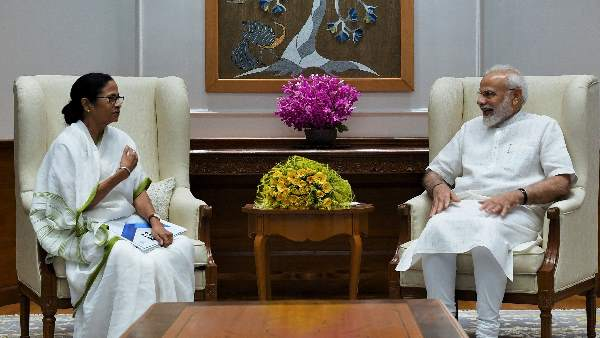 West Bengal Chief Minister Mamata Banerjee called on Prime Minister Narendra Modi, earlier today
