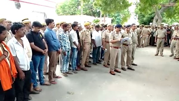 allahabad police arrested 205 criminals in 24 hrs