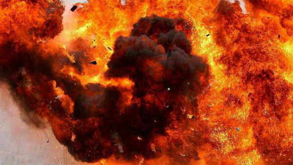 One killed and 13 injured in a cylinder blast in Dighi area of Pimpri-Chinchwad Pune