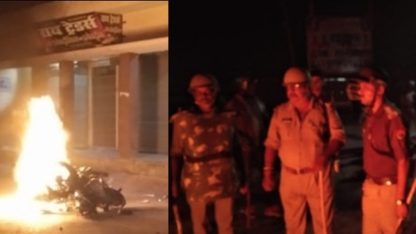 कुशीनगर: हिस्ट्रीशीटर भाइयों को पकड़ने गई पुलिस टीम पर हमला, पथराव-आगजनी