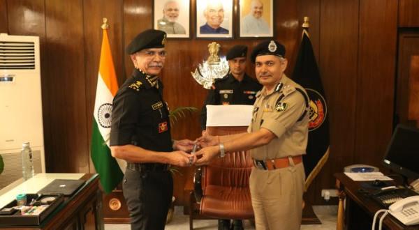 आईपीएस अनूप कुमार सिंह ने एनएसजी डीजी का पदभार संभाला