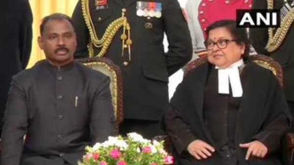 लद्दाख के पहले उपराज्यपाल के रूप में आरके माथुर ने शपथ ली