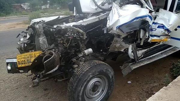 Rajasthan: दौसा में भयंकर सड़क हादसा, अस्थी विसर्जित करके लौट रहे पाली के 5 लोगों की मौत