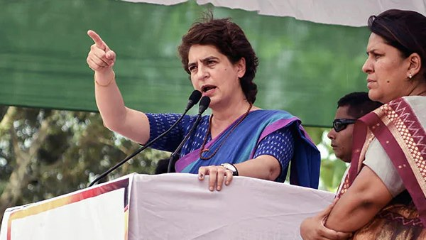 priyanka gandhi attacks on piyush goel over his remarks on Economics Nobel winner Abhijit banerjee