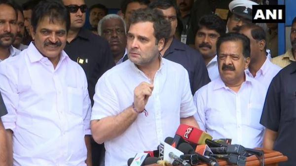 कांग्रेस नेता राहुल गांधी ने प्रधानमंत्री मोदी पर लगाए बड़े आरोप