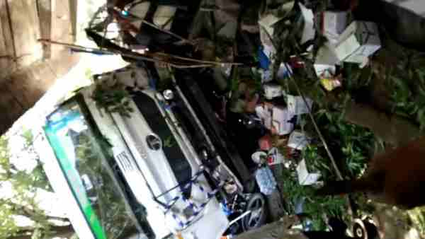 Four people died in a road accident in Sirohi