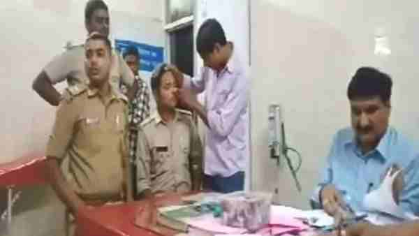 Inspector beaten by criminal in unnao