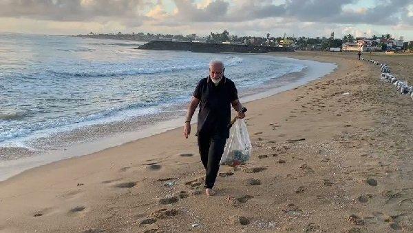 यह पढ़ें: पीएम मोदी ने समुद्र तट पर की सफाई तो इस एक्टर ने कसा तंज, पूछे तीखे सवाल