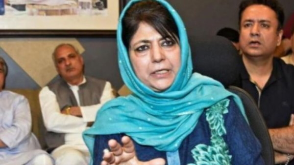 Mehbooba Mufti appeal to opposition leaders to come to the jammu and kashmir