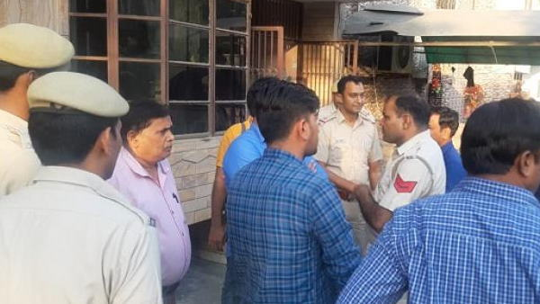haryana ballabhgarh murder of four people of family