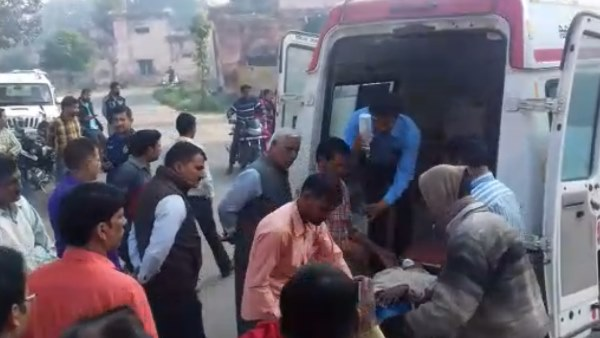 bjp woman leader died in road accident in sambhal