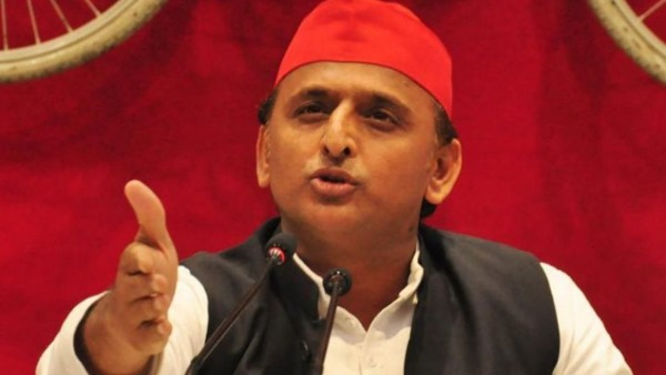 Akhilesh Yadav said CM Yogi tell there are pits in the roads or roads in the pits