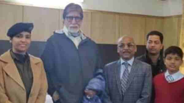 Amitabh Bachchan arrives in Manali for the shooting of the film Brahmastra
