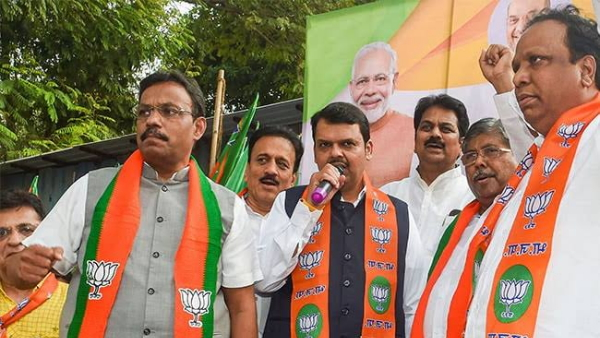 BJP to show strength at Wankhede Stadium tonight before floor test Called the MLAs