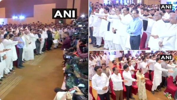 महाराष्ट्र: संविधान का कवर , 162 विधायक को दिलाई शपथ, जानें महापरेड की बड़ी बातें