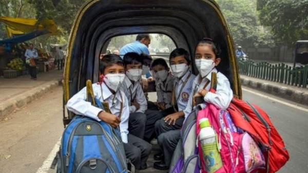 दिल्ली में खतरनाक स्तर पर पहुंचा वायु प्रदूषण, 5 नवंबर तक सभी स्कूल बंद