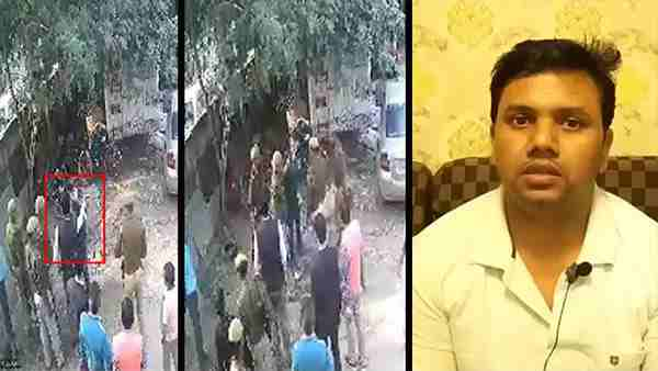 District Collector of Deoria Amit Kishore slaps businessman