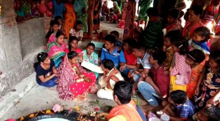 Young Couple left Naxalite training for Love Marriage in Odisha
