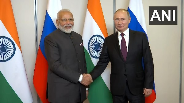 pM Modi holds bilateral meeting with Russian President Putin on the sidelines of BRICS 2019 Summit