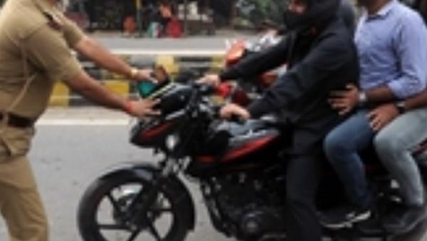 चेकिंग के दौरान इंस्पेक्टर ने रोक दी एडीजी की बाइक, और फिर...