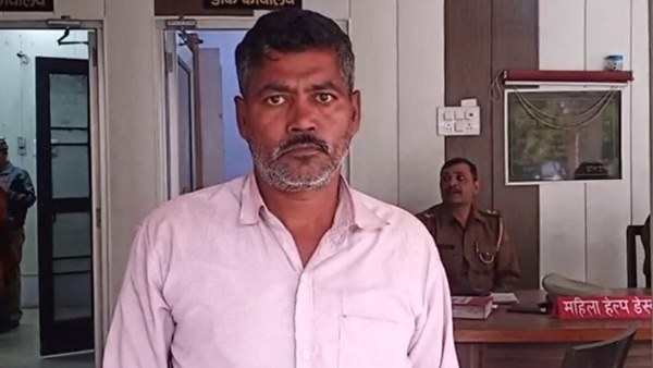 peon arrested for molest class 1 student in moradabad