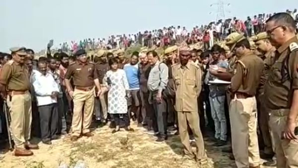 man headless body found in prayagraj