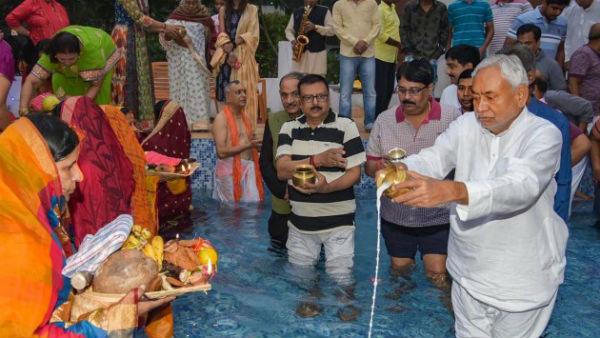 इसे भी पढ़ें- संपन्न हुआ छठ का त्योहार, सीएम नीतीश ने पटना में दिया अर्घ्य, देखें पूजा की तस्वीरें