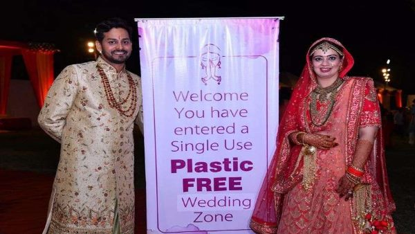 no single use plastic in wedding of jaipur