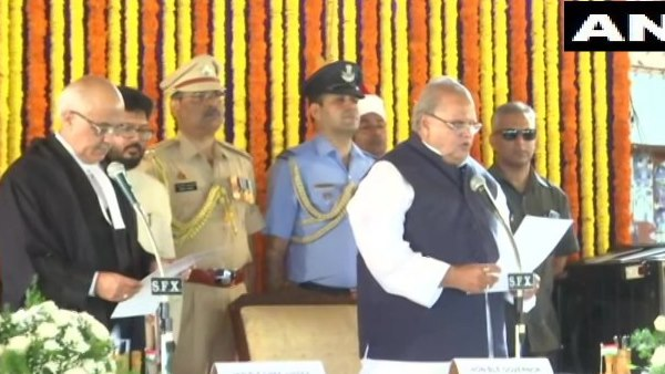 satya Pal Malik was on Sunday sworn in as the Governor of Goa