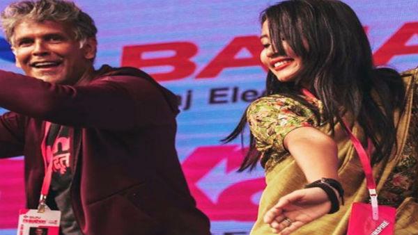 यह पढ़ें: 25 साल छोटी बीवी संग 'Bihu' डांस करते नजर आए मिलिंद सोमन, Video हुआ वायरल