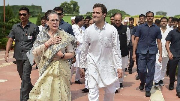 Congress interim President Sonia Gandhi writes to SPG Chief Arun Sinha