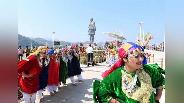 The 'Statue of Unity' found the status of the highest statue