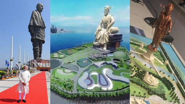 212 meter high statue of Shivaji will be built in Arabian Sea