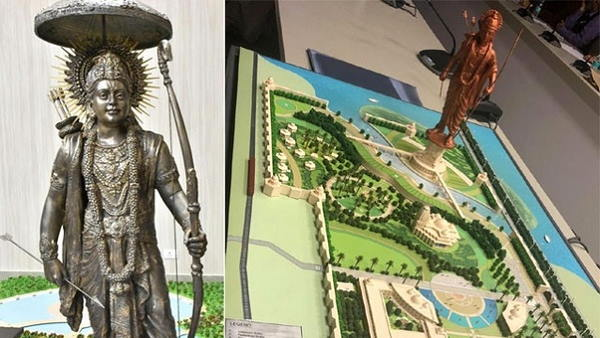 221 meter high statue of Lord Rama to be built in Ayodhya