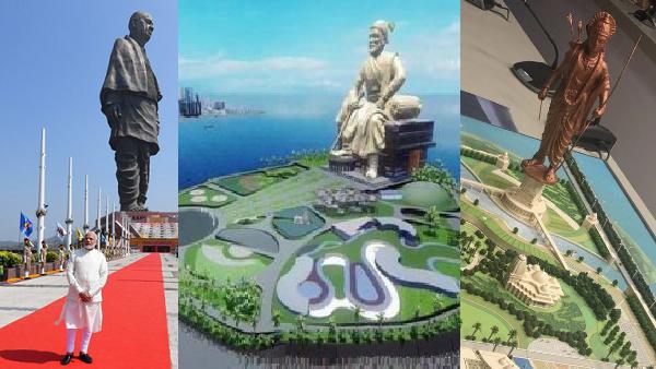 दुनिया की सबसे ऊंची मूर्ति का तमगा खो देगी स्टैच्यू ऑफ यूनिटी, देश में ही  बन रही हैं 2 ऐसी प्रतिमाएं | Statue of Unity to lose its tallest statue  crown to