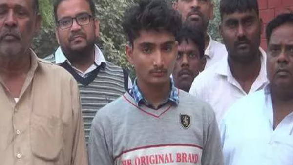 haryana gohna councellor son beaten by unknown people