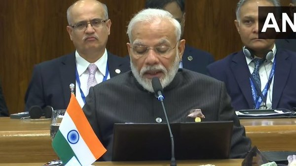 PM Modi said at the BRICS conference Indian economy is worlds most open and friendly