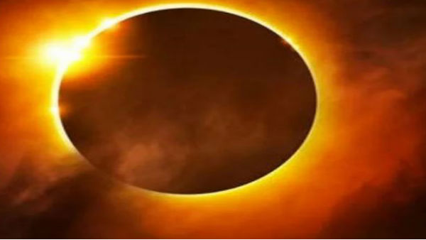 Do not eat food during solar eclipse!