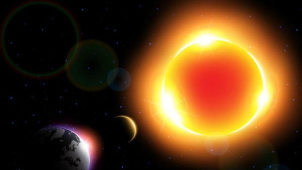 Eating at the time of solar eclipse effects on the body