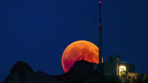 Three-hour 'solar eclipse'