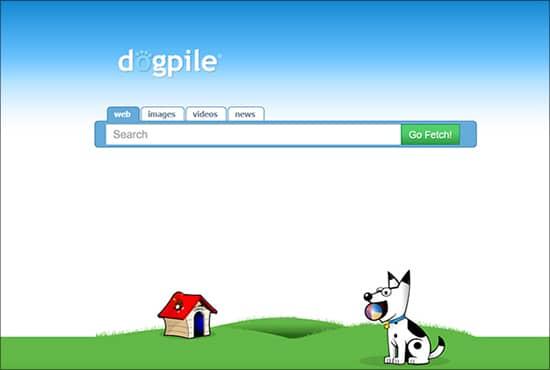 क्लिन और क्विक प्रेजेंटेशन के साथ वापस आ रहा है Dogpile