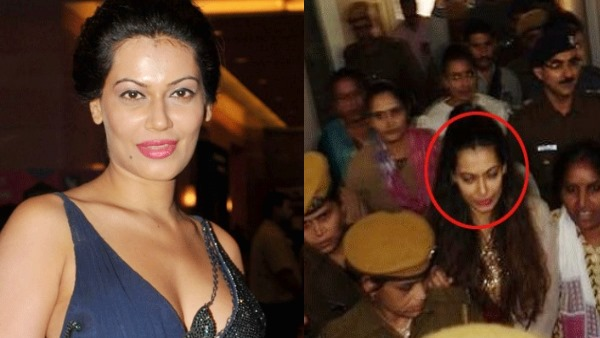 Actress Payal Rohatgi last night in Bundi jail of Rajasthan