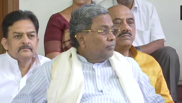 Former Karnataka chief minister Siddaramaiah admitted to a hospital after complained of chest pain